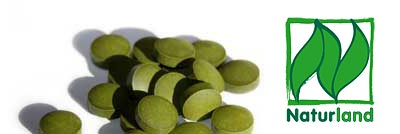 Chlorella Algen Presslinge, Spirulina